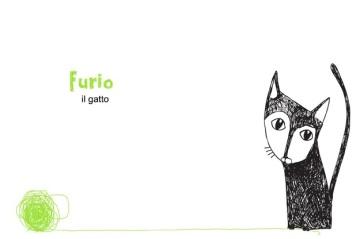 """Illustrazione """"Furio il Gatto"""""""